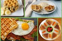 COOKING IN A WAFFLE MAKER / by Beverly Knous