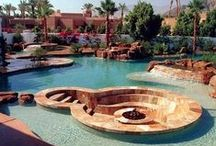 Pool, Landscaping, Outdoor Rooms / by Courtscc