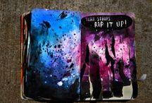Wreck this journal / Art journaling