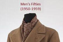 Historical Fashion ~ Men's 50's (1950-1959)