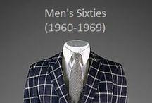 Historical Fashion ~ Men's 60's (1960-1969)