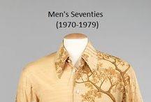 Historical Fashion ~ Men's 70's (1970-1979)