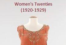 Historical Fashion ~ Women's 20's (1920-1929)