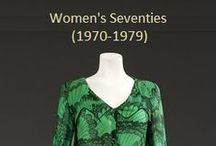 Historical Fashion ~ Women's 70's (1970-1979)