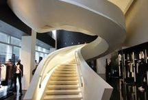 """Arquitectura Escaleras Modernas- Modern Staircase Design / """"El diseño de una escalera es la mejor excusa para crear una auténtica obra escultórica"""" GM."""