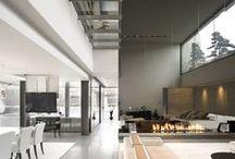 """Arquitectura Interiorismo Moderno - Modern Interior Design / """"La arquitectura es básicamente el diseño de interiores, el arte de organizar el espacio interior."""" Philip Johnson."""