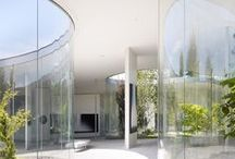 """Arquitectura Jardines Interiores Modernos - Modern Interior Garden Design / """"El arquitecto del futuro se basará en la imitación de la naturaleza, porque es la forma más racional, duradera y económica de todos los métodos"""" Antonio Gaudí."""