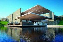 """Arquitectura Espejos de Agua - Water Pond Design / """"Tenemos que basar la arquitectura en el ambiente."""" Toyo Ito."""