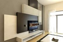 Arquitectura Pared TV - TV Wall Design