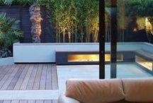 """Arquitectura Terrazas Modernas - Modern Roof Top Design / """"La arquitectura es una cuestión de sueños y fantasías, de curvas generosas y de espacios amplios y abiertos."""" Oscar Niemeyer."""