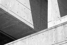 """Arquitectura Moderna en Concreto - Modern Concrete Design / """"El espacio arquitectónico solo cobra vida en correspondencia con la presencia humana que lo percibe"""" - Tadao Ando"""