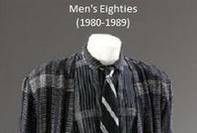 Historical Fashion ~ Men's 80's (1980-1989)