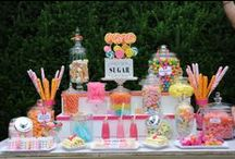 Candy Bar / ideas para mesas de dulces varios temas / by kpbueno