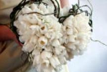 ♥ Bruidsboeketten - Bridal Bouquets ♥ / Veel soorten boeketten, van eenvoudig tot uitbundig en duur
