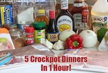 Freezer &/or Crockpot Dinners