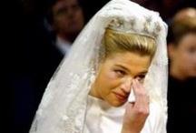 ♥ Koninklijke Bruiden - Royal Brides ♥ / Adellijke huwelijken met schitterende japonnen