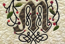 Celtic Knots & Loops ~ Irish Patchwork & Patterns  / Collecting ideas for Celtic Quilt / by Jen Boulter
