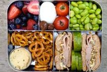 Lunch Inspiration / Lunch ideas to get me out of the PB&J rut!