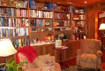 Libraries, Bookcases, book shops,& vintage books... / Books, books and more books on the shelves! / by Sandy Mester