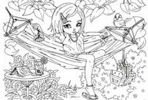 Kids - Coloring Pages / by Sheri Dunaway