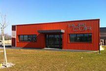 Rubi Cuir / Le chantier RUBI CUIR à Boulazac (24). Plus d'infos sur www.v2i-conceptio... (c) 2012 Groupe Ellipse