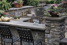Outdoor Kitchens / Ideas for outdoor kitchens & dining areas.