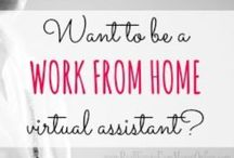 Virtual Assisting & WAHM Tips / Find inspiring ideas on becoming a VA or WAHM or WAHF. Lots of do's, don'ts and must try ideas.