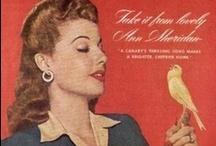 Ann Sheridan Advertisements / Ann Sheridan in various advertisements.