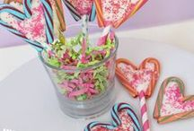 Valentine's Day / Crafts, Recipes, DIY gifts and classroom treat ideas to spread the love on Valentine's Day!