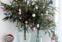 Festive Holiday Decor / Dude, I'm feeling jolly.  (What's in here: holiday decorating, table settings, holiday mantel, tree ideas, stockings, ornaments, cocoa, Christmas crafts, festive decor, candlesticks, simple holiday decor, cocktails) / by Sherry @ Young House Love