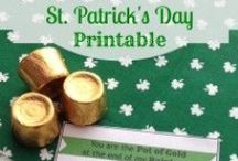 ✤ St. Patrick's Day ✤ / Lads and Lassies- check out these great ideas for a fab St. Patrick's Day celebration.  Recipe, DIY, Crafts, Humor and more!  / by Mary (Mission to Save)