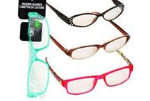 Reading Glasses For Less / Having trouble reading small print in books, magazines, and newspapers? Save yourself the headache with this fashionable assortment of reading glasses. Perfect for the perpetual and occasional reader. http://www.dollartree.com/health-beauty/eye-care/591c600c600/index.cat / by Dollar Tree