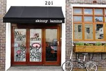 The Skinny laMinx Shop / When next you're in Cape Town, be sure to visit the Skinny laMinx storefront and studio at 201 Bree St.