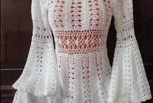 Crochet Garments / Clothing of all types- shirts, dresses, sweaters, vests, tanks, camis, skirts, etc. / by Sherry Conrad