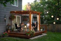 Inspiration for Outdoor Living / Fun and creative ideas for your backyard, patio, and garden!
