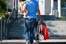 Scoot: The City Stroller / A compact, easy folding lightweight stroller for city life on the go. Can be used as part of a travel system with Stokke® PIPA™ by Nuna® and Base, and from birth with the newborn Carry Cot solution.