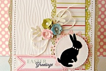 Easter Cards, Images, Eggs, Etc.. / by Bashful Treddenbarger