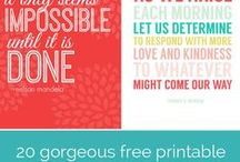 Printables & wallpapers / by Christine Crofts