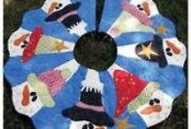 Tree Skirts to Quilt / by Leslie Brinkley