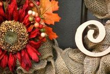 Fall Decor Ideas / All things Fall! Ideas, DIY, wreaths, Dollar tree, savy, outdoor decor, crafts, for the mantel, indoor, Halloween, Autumn, on the porch, easy and fun.