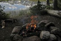 Camping sites/campfires .. / by JoAnn Rogers
