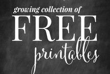 Printables / My favorite printables for the home, budget, free, kids, homeschool, cleaning, organization, planner, for school, quotes, to frame for decor, for binders, teachers, wall art, calendar, scripture, templates, and more.