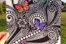 Zentangle, doodles & patterns / by Jelena Sitnica