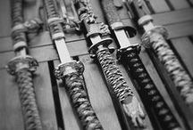 Knives, swords, bows & arrows / knives, blades, swords, katanas, bows, arrows / by Strawberry and Hearts