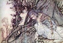 Anton Pieck/John Bauer/Arthur Rackman/Charles Livingston Bull/art... / by JoAnn Rogers