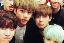 BTS / Jin, Rap Monster, Jimin, V, Jungkook, J-Hope & Suga