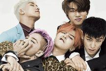 BigBang / Taeyang, Daesung, Seungri, G-Dragon & T.O.P