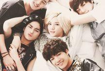 Nu'est / Aron, Baekho, Minhyun, Ren & JR