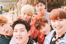 MONSTA X / Minhyuk, Jooheon, Shownu, Kihyun, I.M, Hyungwon & Wonho