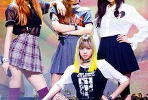 BlackPink / Jisoo, Jennie, Lisa & Rosé